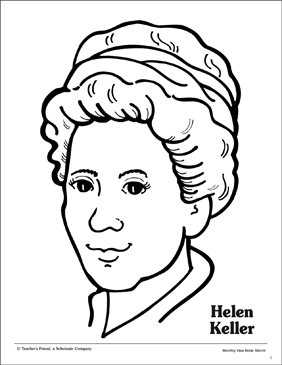 Helen keller cartoon clipart black and white graphic royalty free download Helen Keller Drawing at PaintingValley.com | Explore ... graphic royalty free download