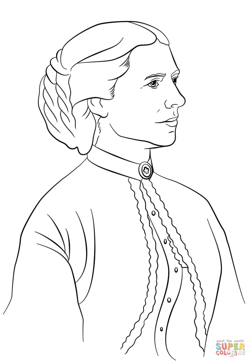 Helen keller cartoon clipart black and white svg royalty free download Helen Keller Coloring Page - Coloring Home svg royalty free download
