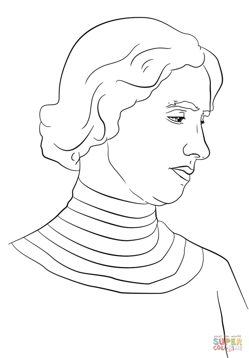 Helen keller cartoon clipart black and white jpg freeuse library Sketch Of Helen Keller at PaintingValley.com | Explore ... jpg freeuse library