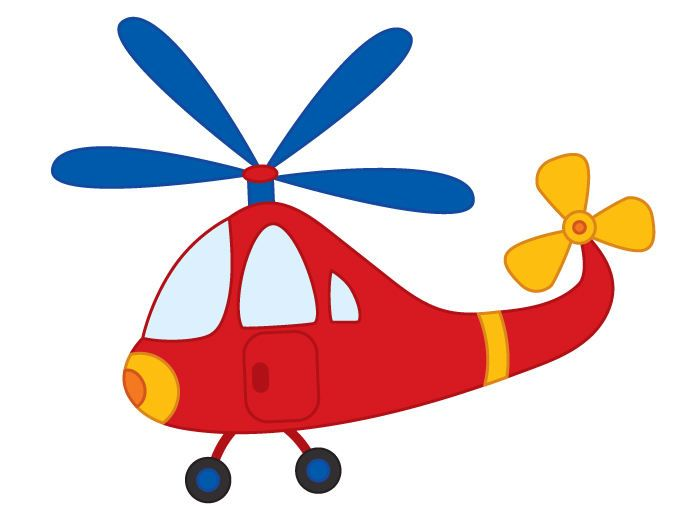 Helicopter clipart image image library library Helicopter Clipart - Digital Vector Helicopter, Boys ... image library library
