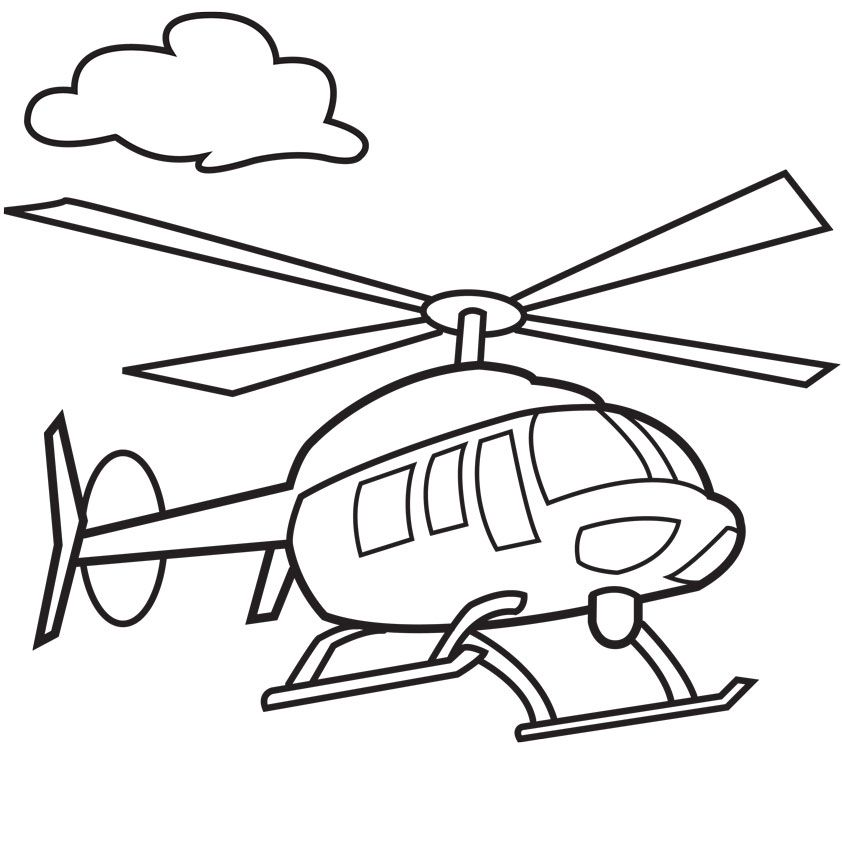 Helicopter clipart to color in freeuse library helicopter cartoon drawing | wu | Airplane coloring pages ... freeuse library