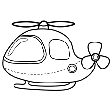 Helicopter clipart to color in royalty free download Helicopter Coloring Pages - Free Printable for Kids royalty free download