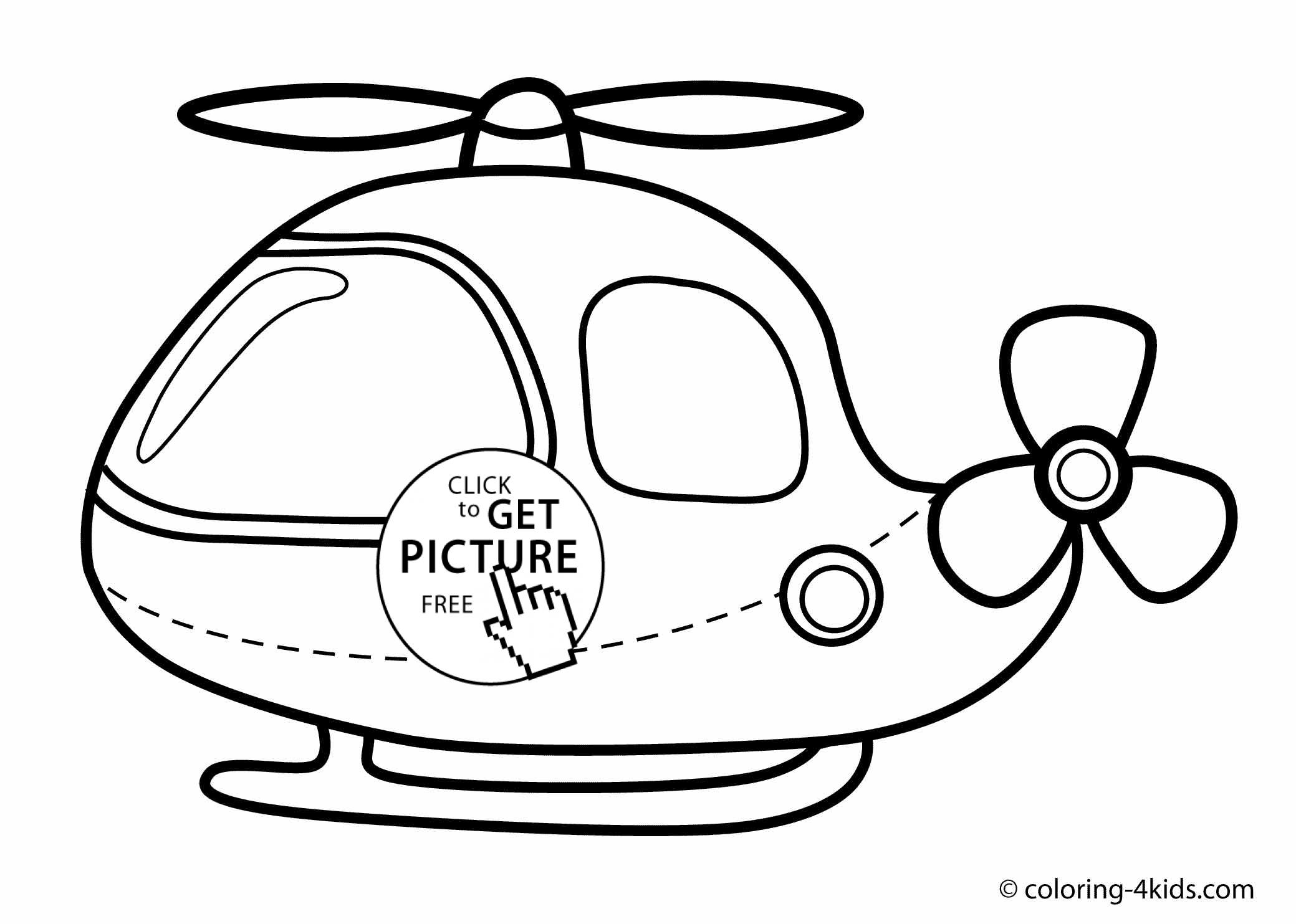 Helicopter clipart to color in banner free download Helicopter coloring pages, helicopter coloring book for kids ... banner free download