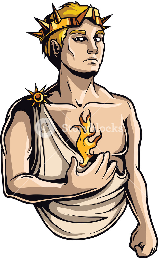 Helios clipart png free download Greek Mythological Vector Element Royalty-Free Stock Image ... png free download