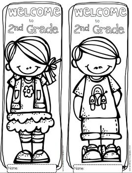 Hello and welcome to pre k clipart banner free Free Welcome to Any Grade {Pre-K through 6th Grade} Coloring ... banner free