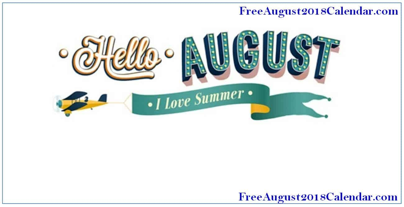 Hello august clipart graphic August Images Clipart | Welcome August Images | August ... graphic