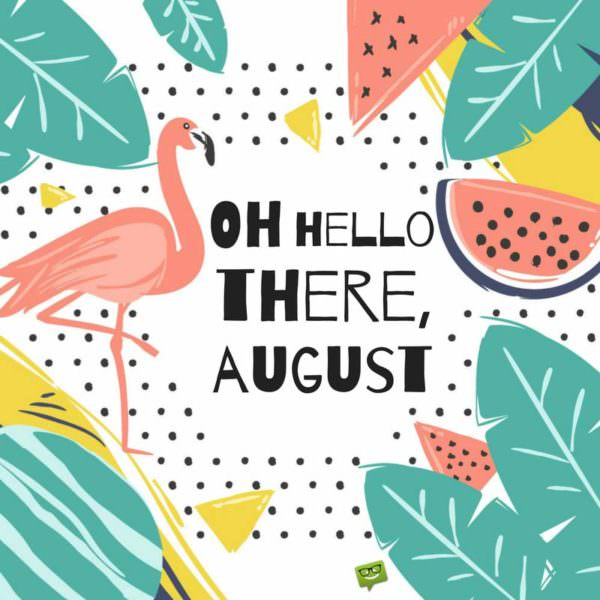 Hello august clipart svg download Hello, August! | Quotes for a Summer Month to Enjoy svg download