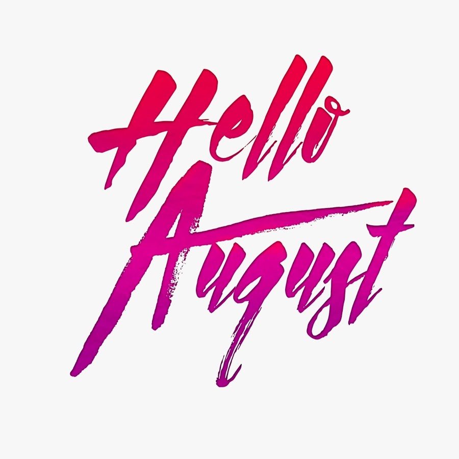 Hello august clipart clip royalty free Hello August Images clip royalty free