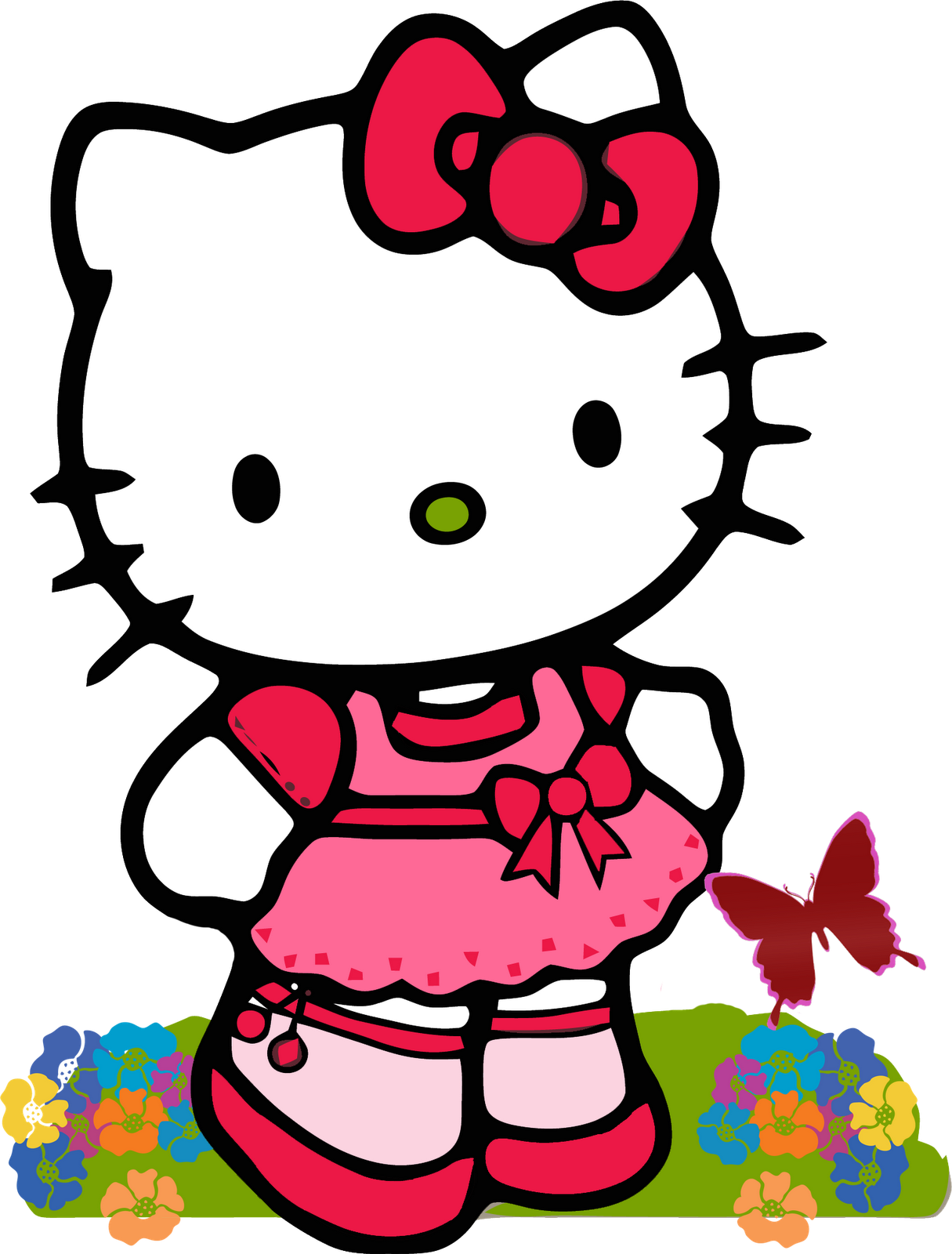 Hello kitty 1st birthday clipart graphic library Hello Kitty Birthday - ClipArt Best graphic library