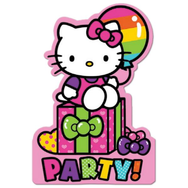 Hello kitty 1st birthday clipart vector transparent stock Images Hello Kitty Birthday - ClipArt Best vector transparent stock
