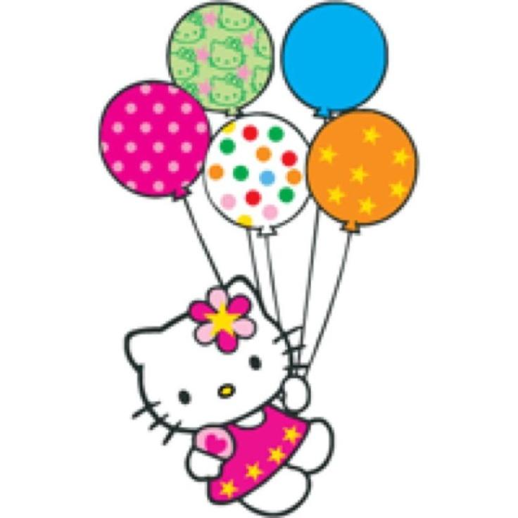 Hello kitty 1st birthday clipart clip art royalty free stock Hello Kitty Birthday Clipart - ClipArt Best clip art royalty free stock
