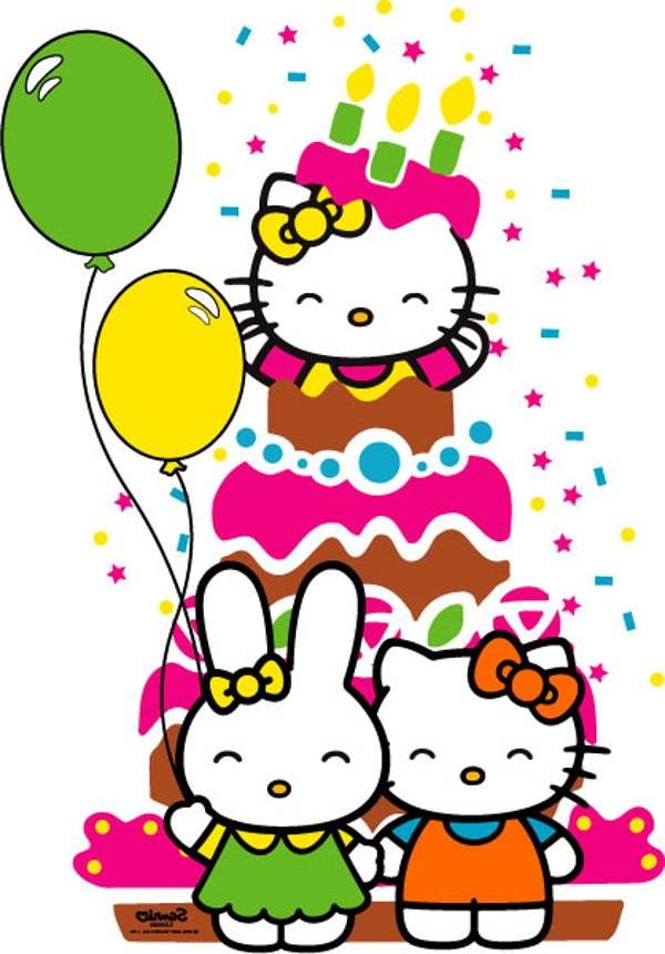 Hello kitty 1st birthday clipart picture freeuse library Hello Kitty 1st Birthday Clipart - clipartsgram.com picture freeuse library