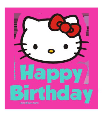 Hello kitty 1st birthday clipart clipart black and white library Hello Kitty Birthday Png - ClipArt Best clipart black and white library