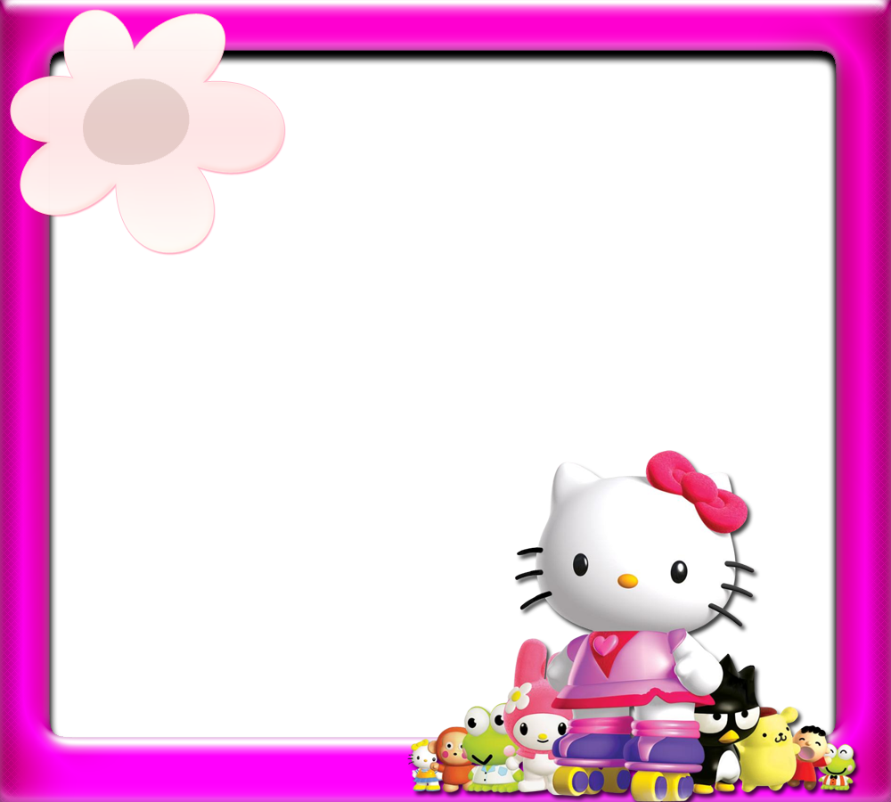 Hello kitty baseball clipart clipart royalty free stock Hello Kitty: Borders, Images and Backgrounds. | Oh My Fiesta! in english clipart royalty free stock