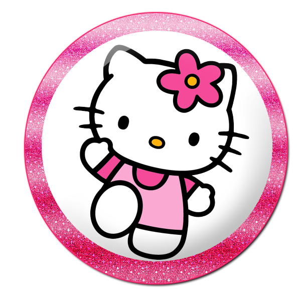 Hello kitty baseball clipart picture freeuse download Hello Kitty: Buttons, Labels and Toppers. | Oh My Fiesta! in english picture freeuse download