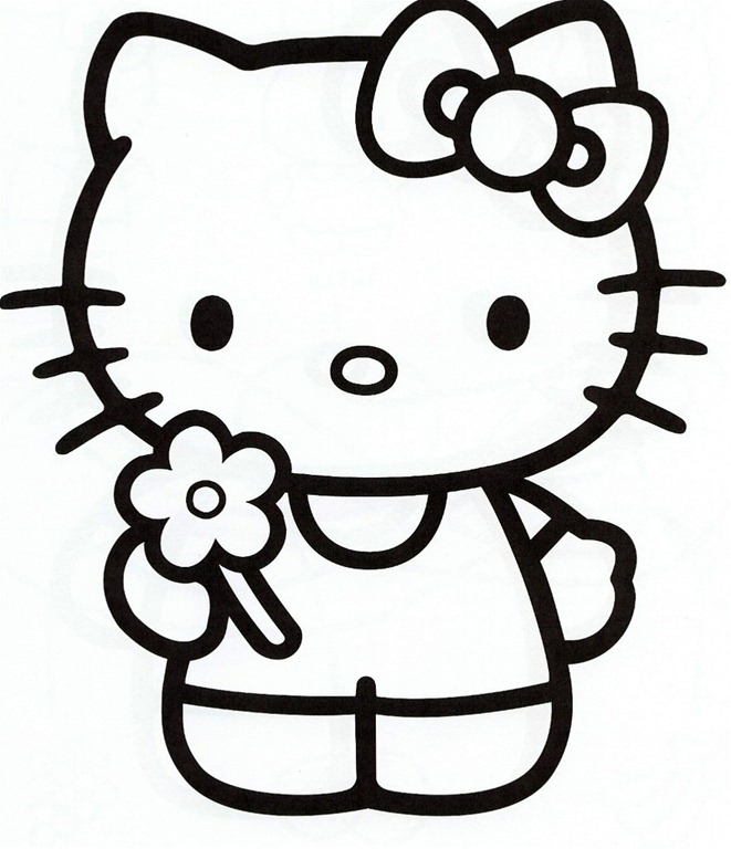Hello kitty clipart black and white vector royalty free library Free Hello Kitty Clipart, Download Free Clip Art, Free Clip ... vector royalty free library