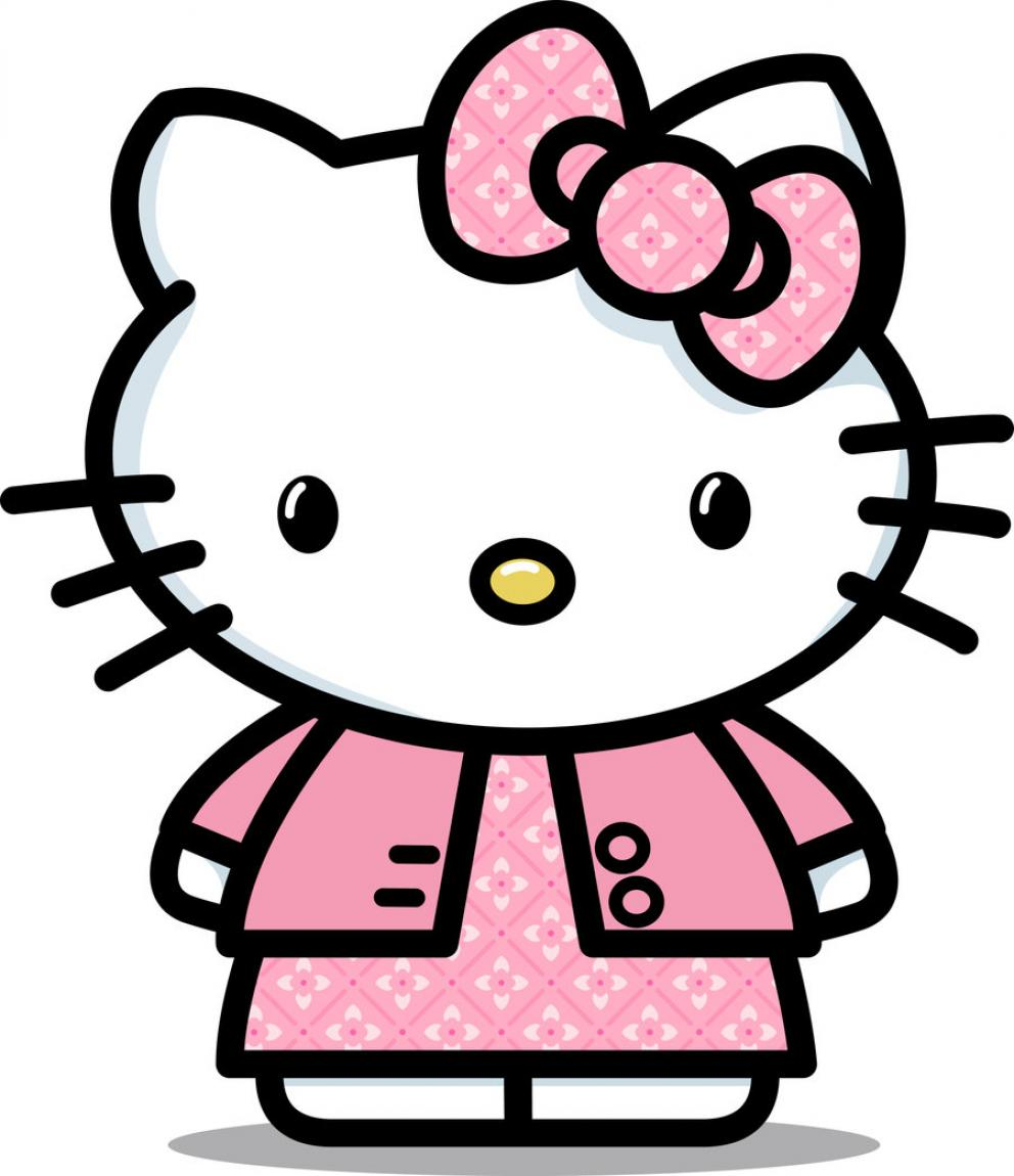 Hello kitty clipart jpg clip art black and white Hello kitty clipart jpg - ClipartFest clip art black and white