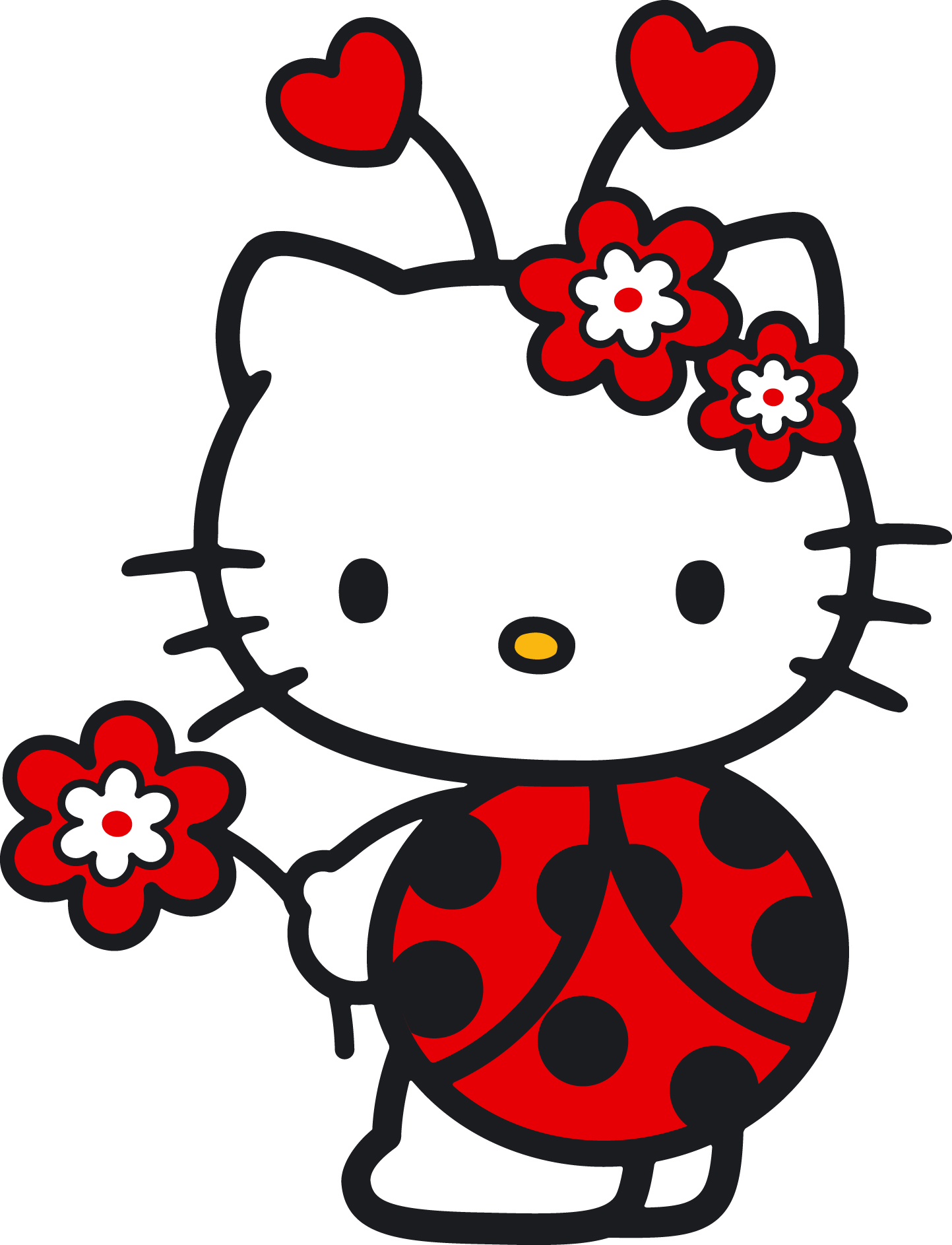Hello kitty clipart jpg svg library download 17 Best images about Hello Kitty on Pinterest | My melody, Wall ... svg library download