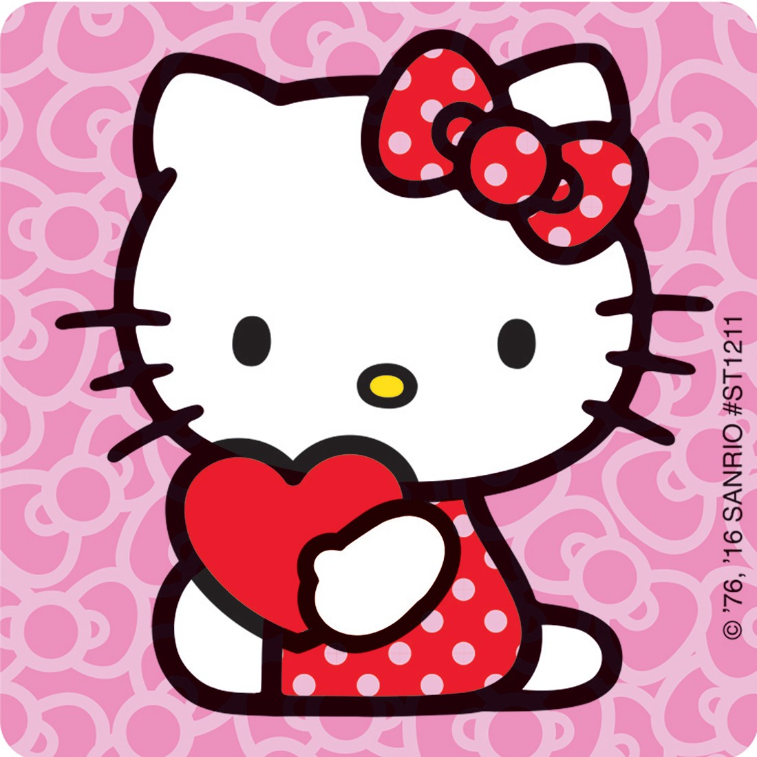 Hello kitty valentine clipart image free download Hello Kitty Valentine\'s Stickers - Stickers from SmileMakers image free download