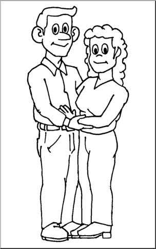 Help parents clipart black and white clip art transparent library Parents Clipart Black And White (84+ images in Collection ... clip art transparent library