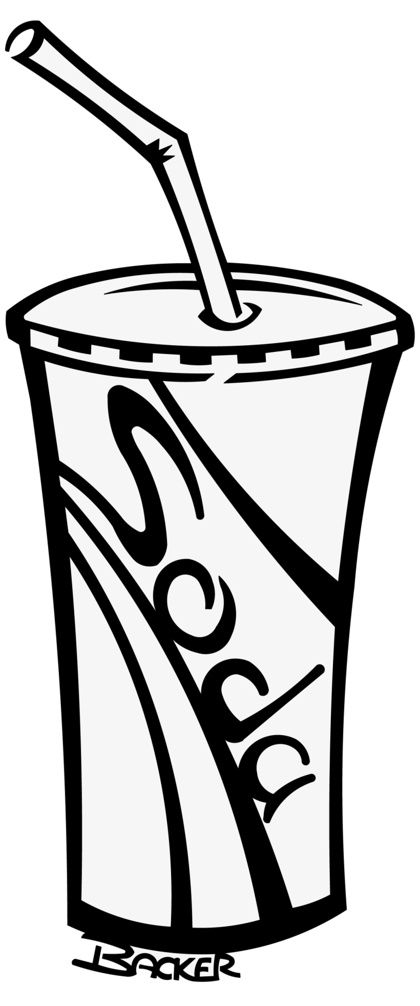 Help with drinks clipart black and white clip art royalty free download Soda Cup Soft Drinks Clipart Black And White Free ... clip art royalty free download