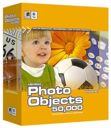 Hemera photo clipart image library Hemera Photo Objects 50,000 Volume 1 Clipart Win/Mac DVD - BMSoftware image library