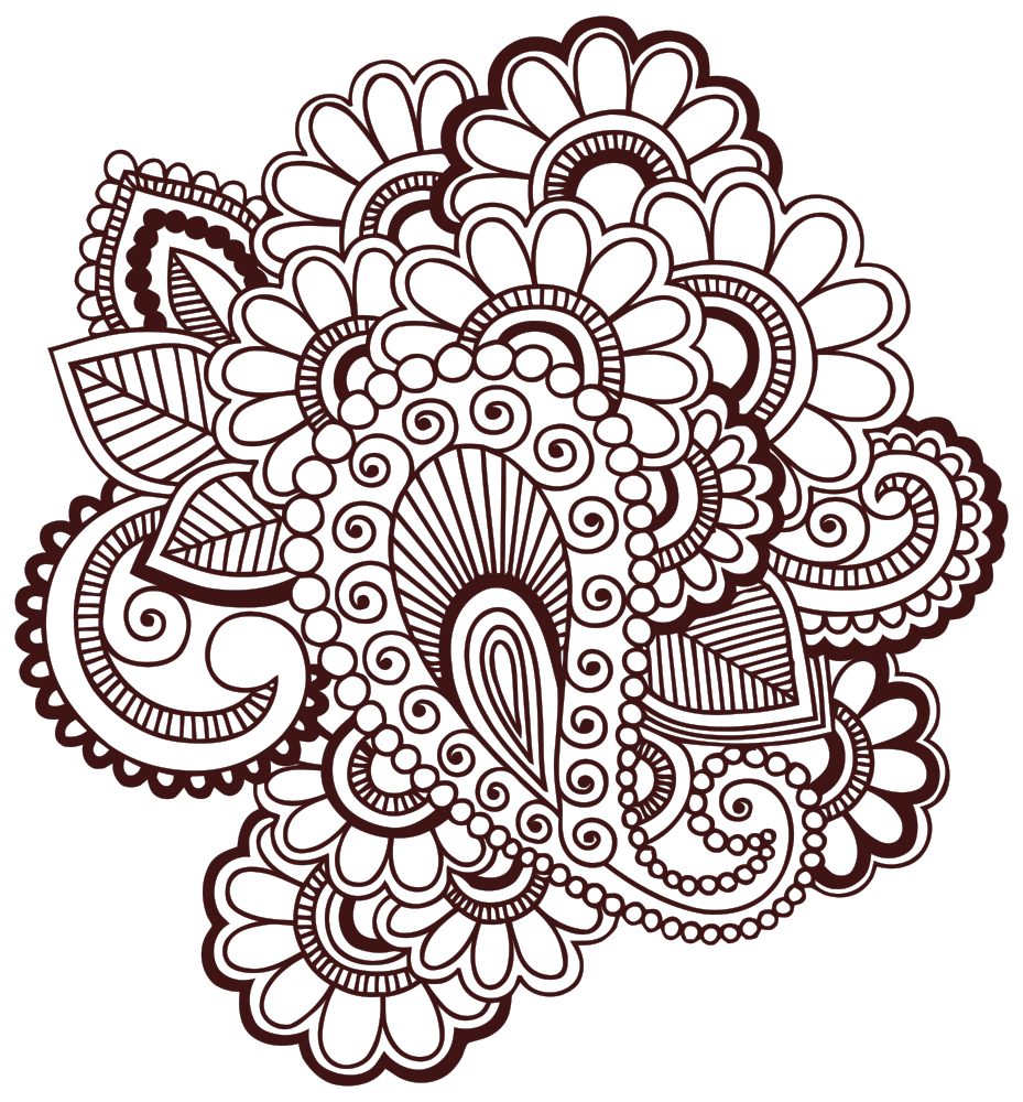 Henna cross clipart png free OnlineLabels Clip Art - Henna Tattoo png free