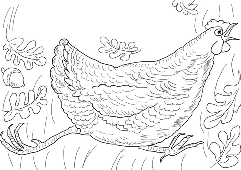 Henny penny clipart clipart freeuse Henny Penny is Screaming \