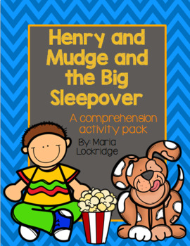 Henry and mudge in the sparkle days clipart graphic royalty free library The Big Sleepover Worksheets & Teaching Resources | TpT graphic royalty free library