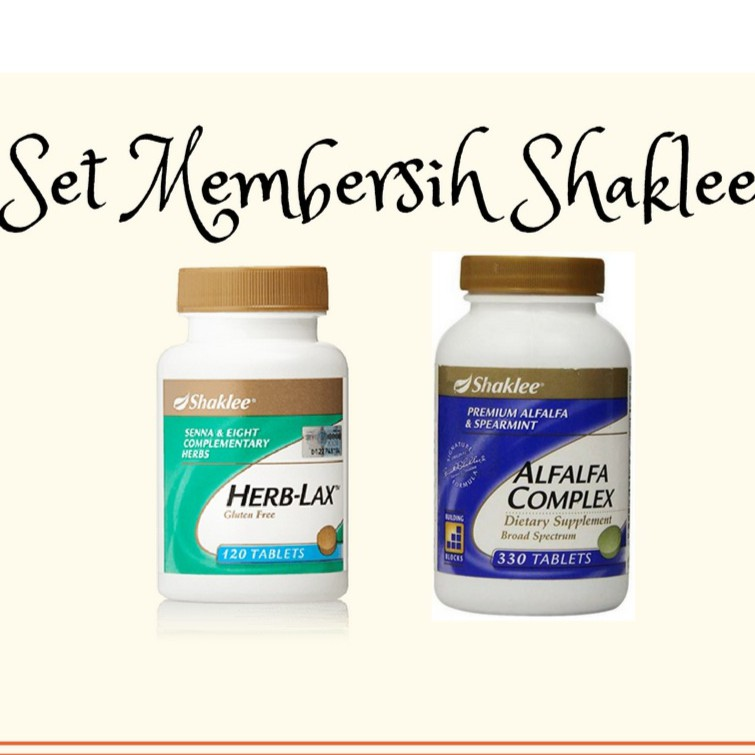 Herb lax shaklee clipart svg library download SET DETOX SHAKLEE [ HERB LAX + ALFALFA (S)] svg library download