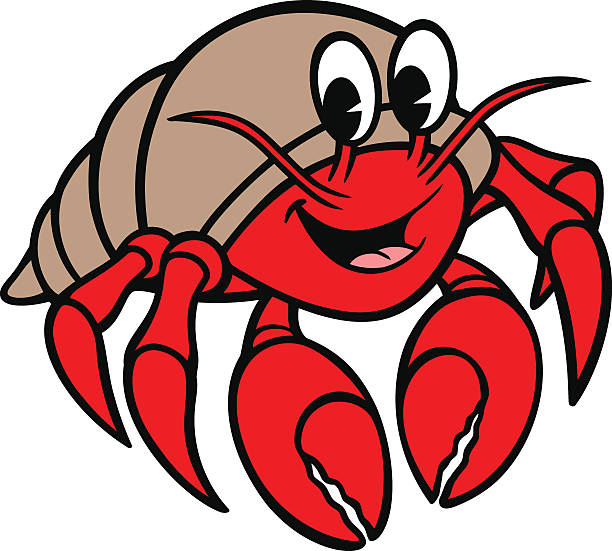 Hermit crab clipart black and white no background vector transparent stock Hermit Crab Clipart | Free download best Hermit Crab Clipart on ... vector transparent stock