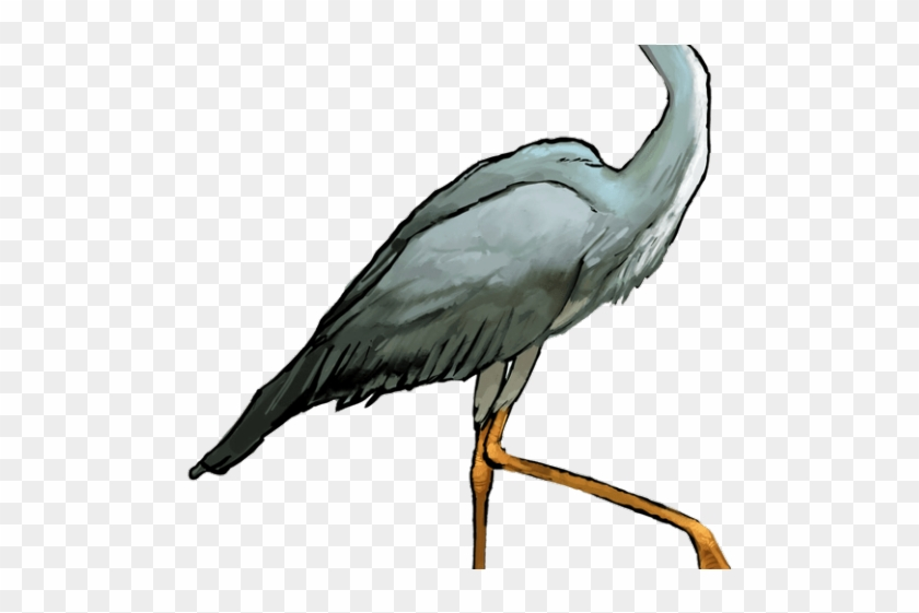 Heron clipart picture download Heron Clipart Crane Bird - Great Blue Heron Transparent Background ... picture download