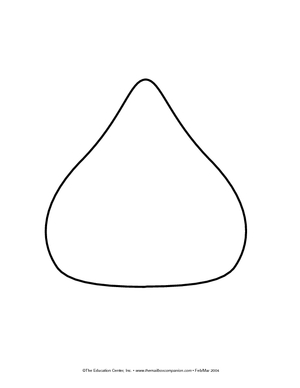 Hershey kiss clipart black and white vector black and white Free Hershey Kisses Cliparts, Download Free Clip Art, Free Clip Art ... vector black and white