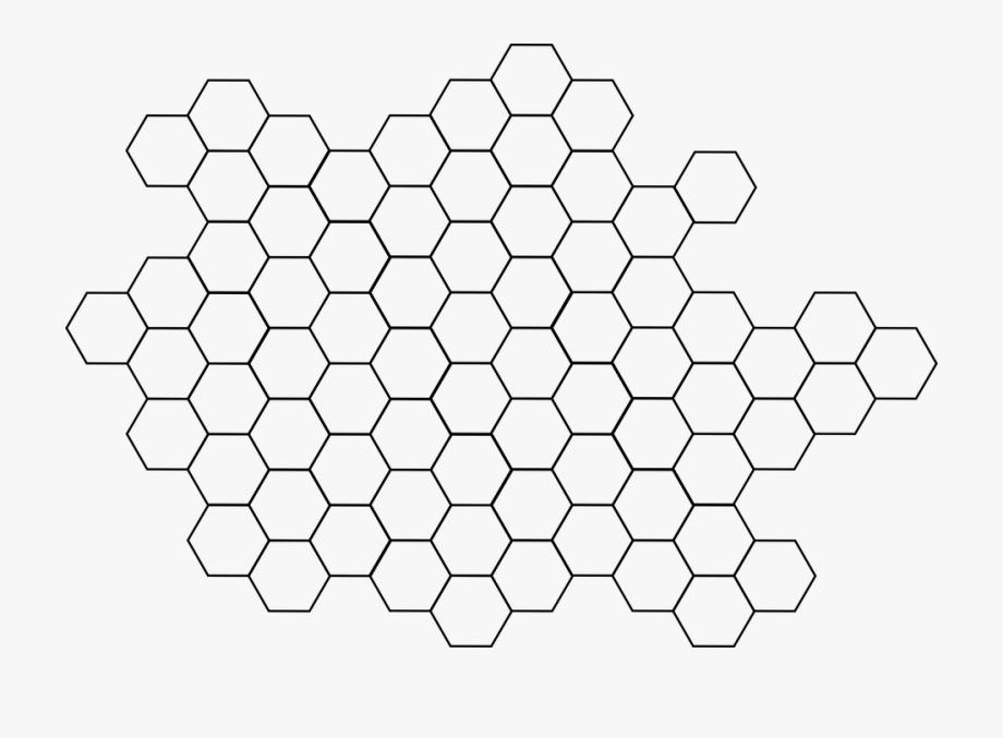 Hexagon vector clipart png free Hexagon, Pattern, Bee, Hive, Beehive, Hexagonal - Free Vector ... png free