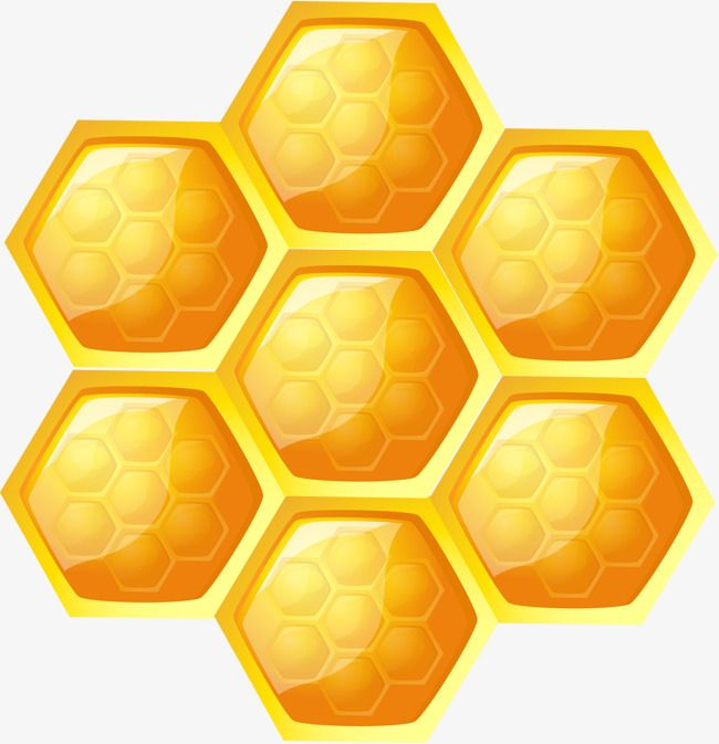 Hexagon vector clipart svg freeuse stock Cellular Hexagonal Vector, Hexagon, Yellow Hexagon, Yellow PNG and ... svg freeuse stock