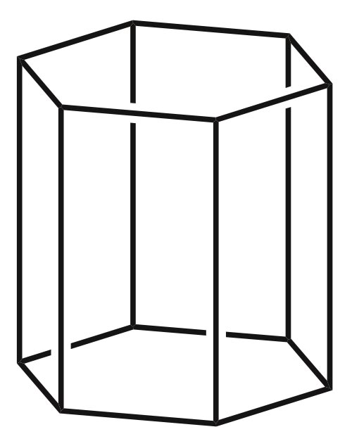 Hexagonal prism clipart graphic freeuse library Hexagonal Prism - Math Pictures, Images & Clip Art graphic freeuse library