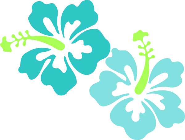 Hibiscus clipart free clip freeuse stock Hawaiian Luau Border Clipart - Free Clip Art Images | So Loving This ... clip freeuse stock