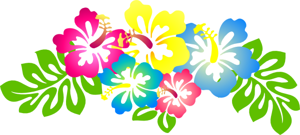 Hibiscus clipart images image black and white library Hibiscus Flower Clip Art | Hibiscus4 clip art - vector clip art ... image black and white library