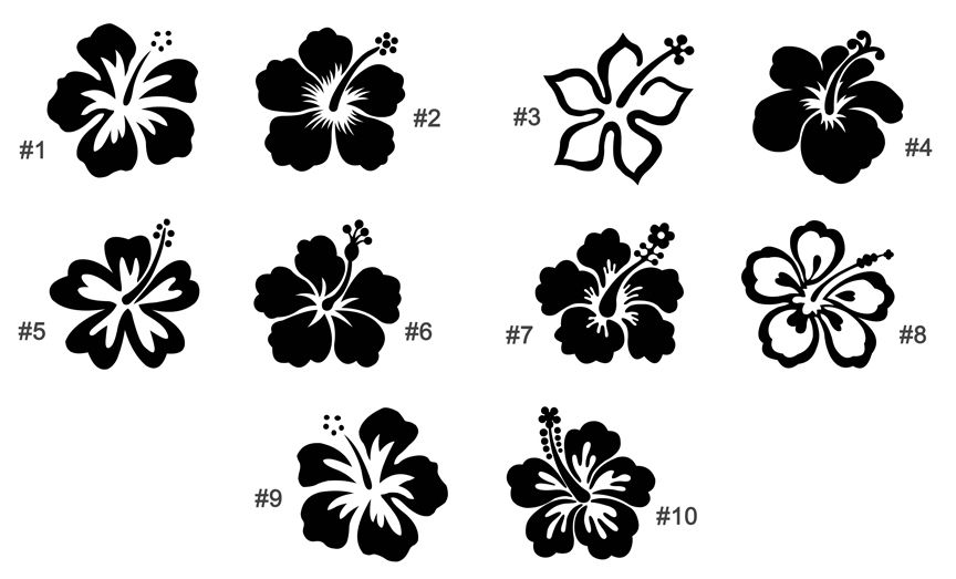 Hibiscus flower and paisley clipart black and white vector freeuse download Journal Art Inspiration: Hibiscus Flowers | #journaling ... vector freeuse download