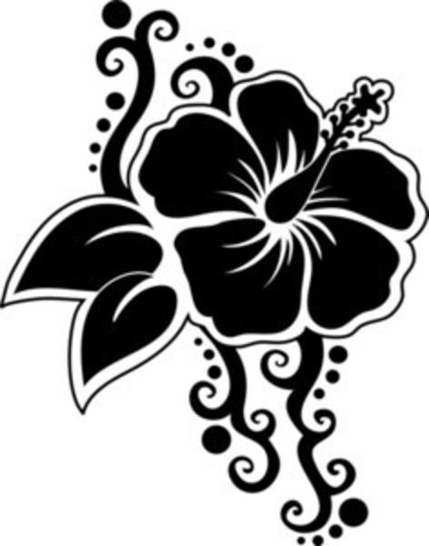 Hibiscus flowers vector art free graphic free download Hawaiian Flower Vector | Free Download Clip Art | Free Clip Art ... graphic free download