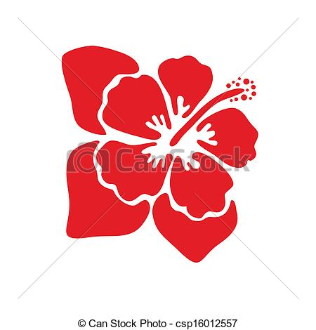 Hibiscus flowers vector art free clip black and white stock Clipart Vector of Vector illustration of hibiscus flower ... clip black and white stock
