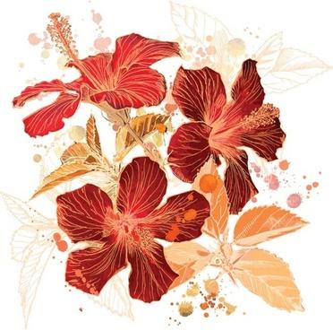 Hibiscus flowers vector art free royalty free library Hibiscus vector art free vector download (212,850 Free vector) for ... royalty free library