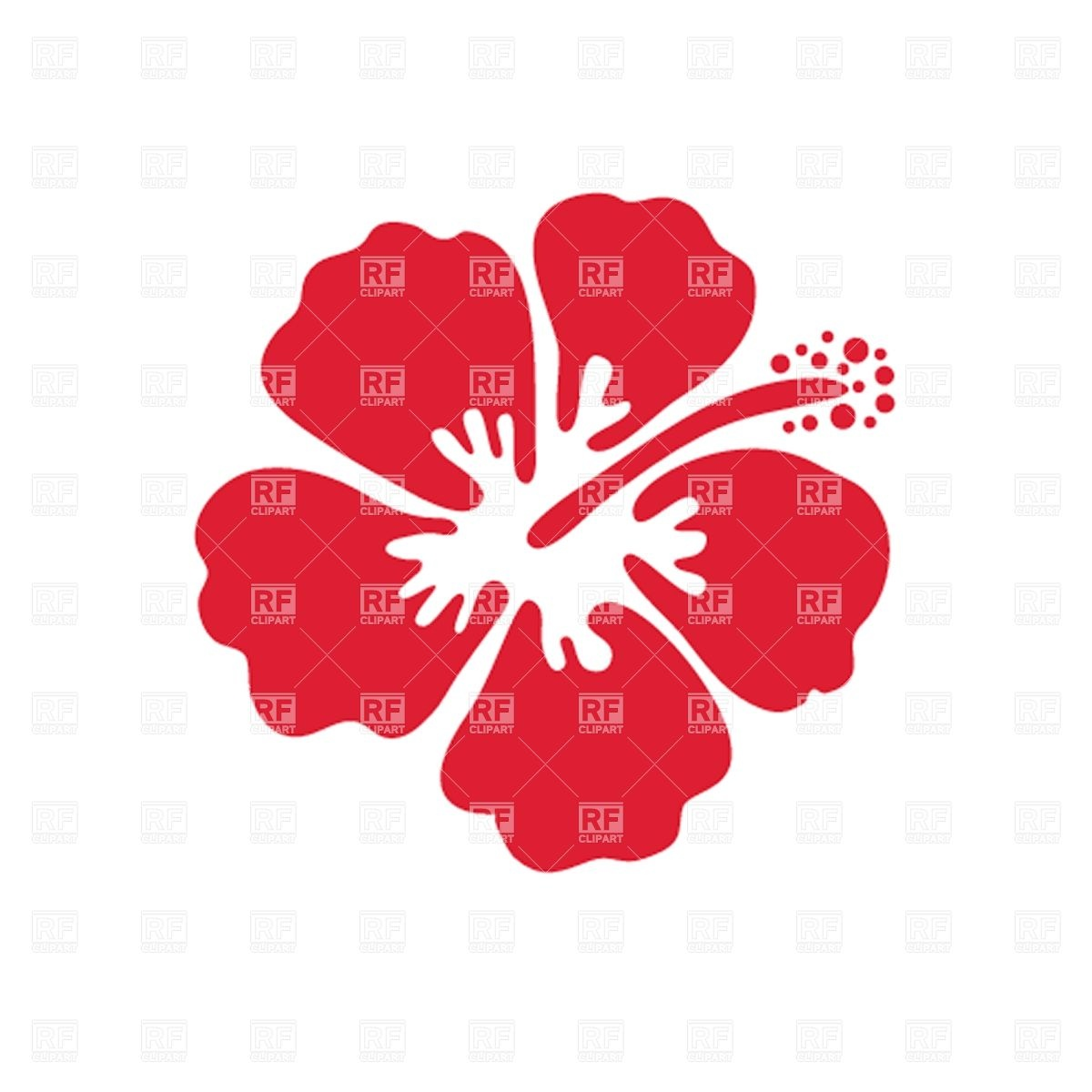 Hibiscus flowers vector art free png free library Hibiscus flowers vector art free - ClipartFest png free library