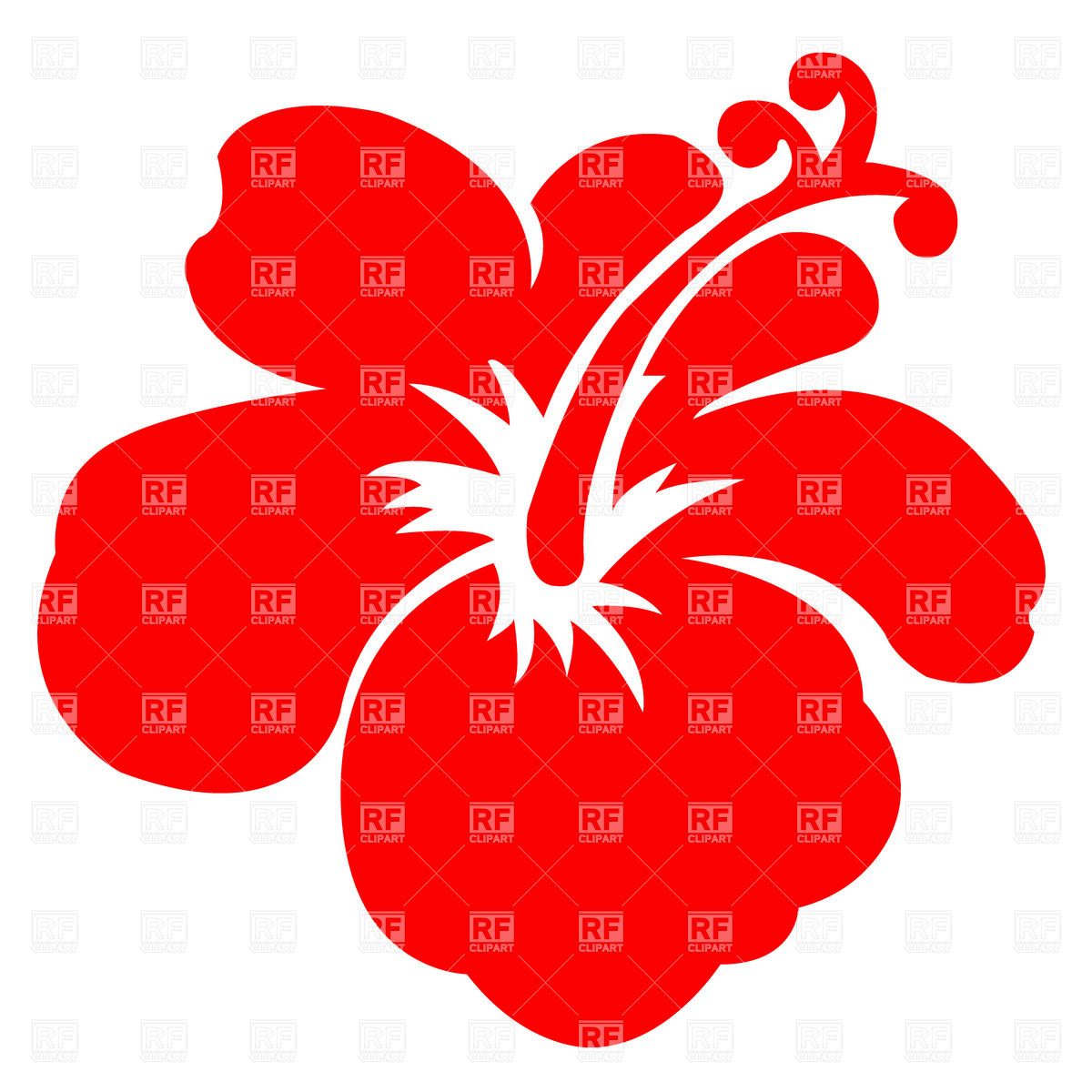 Hibiscus flowers vector art free clipart library download Watercolor hibiscus flower Vector Image #72614 – RFclipart clipart library download