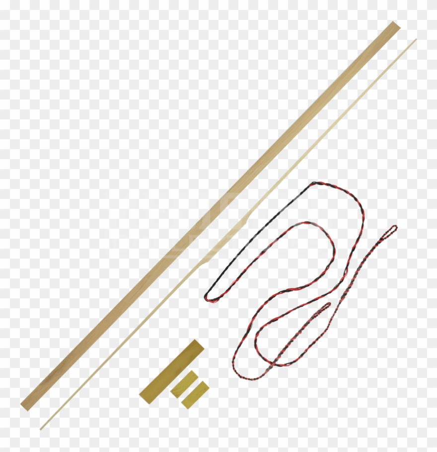 Hickory clipart clip art transparent download 72 Inch Hickory Bow Kit With Osage Riser And Tips - Building Clipart ... clip art transparent download