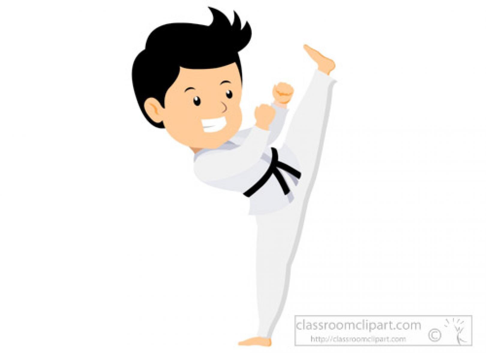 High kick clipart clipart royalty free library young-man-demonstrating-karate-high-kick-clipart.jpg - Cliparts Base clipart royalty free library