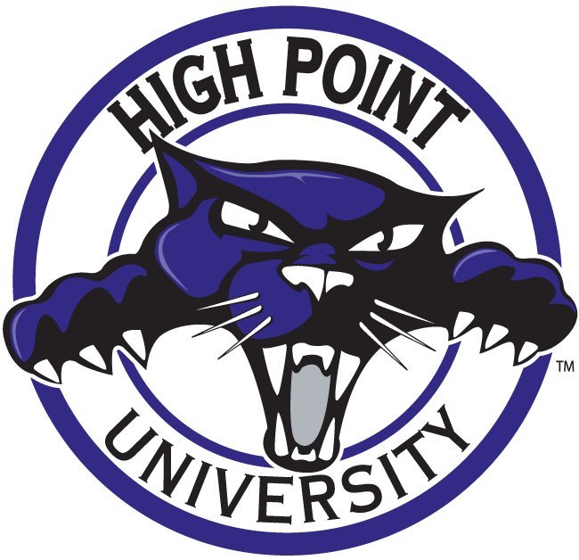 High point university logo clipart clip art freeuse download High Point Panthers Alternate Logo - NCAA Division I (d-h) (NCAA d-h ... clip art freeuse download