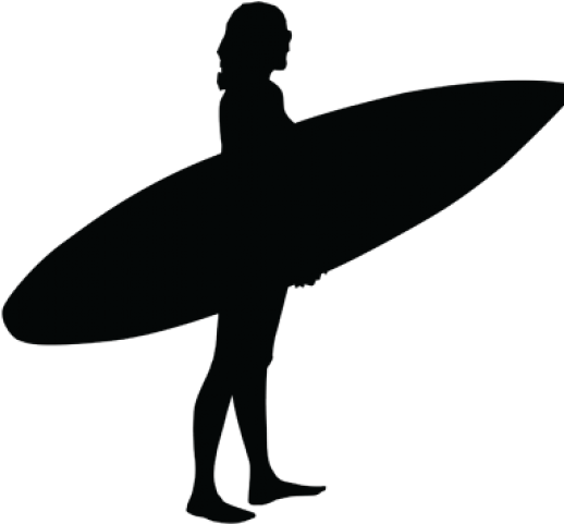High resolution clipart black & white surfboards vector stock Surfer Clipart Female Surfer - Surfboard - Png Download - Full Size ... vector stock