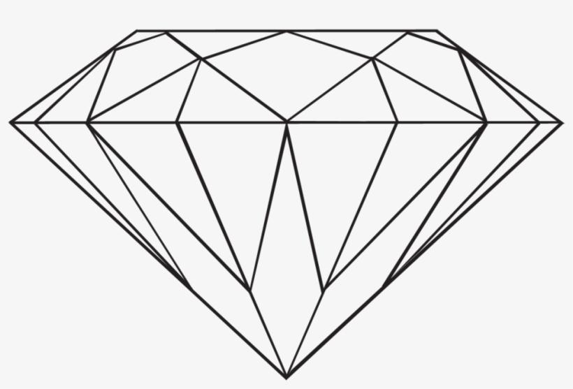 High resolution diamonds clipart line art transparent vector Transparent Diamond By Danakatherinescully On Clipart - Diamond Clip ... vector