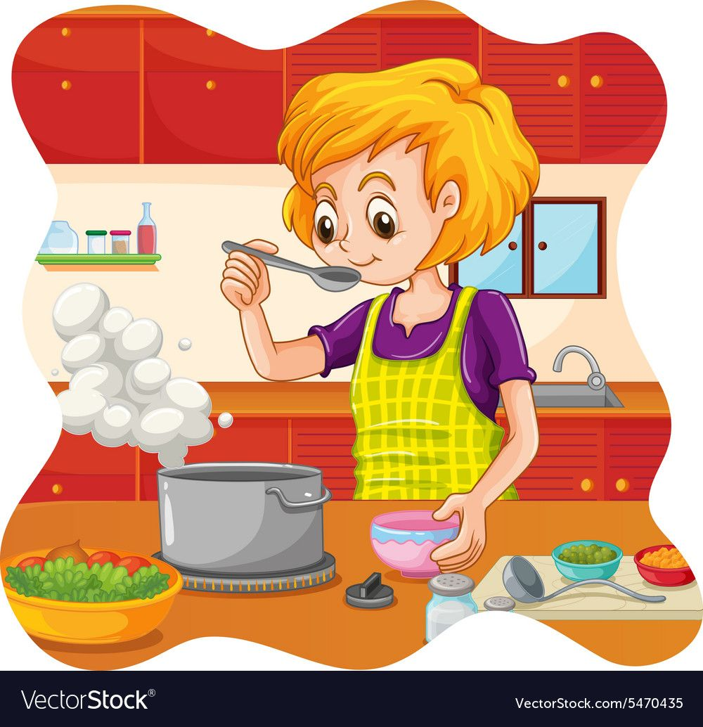 High resolution free kitchen clipart image freeuse library Pin by ana yesenia on casa | Kids background, Coloring for ... image freeuse library